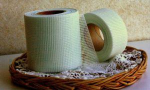 Использование сетки-серпянки для штукатурки