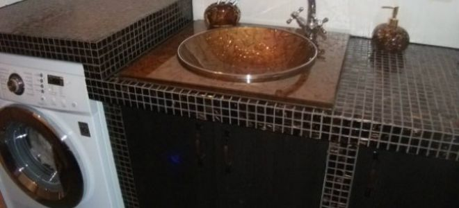 Столешница из гипсокартона в ванной комнате: насколько это реально