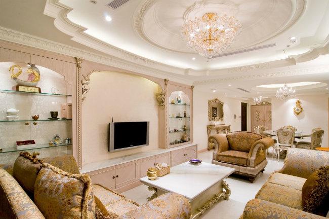 декорирование потолка из гипсокартона