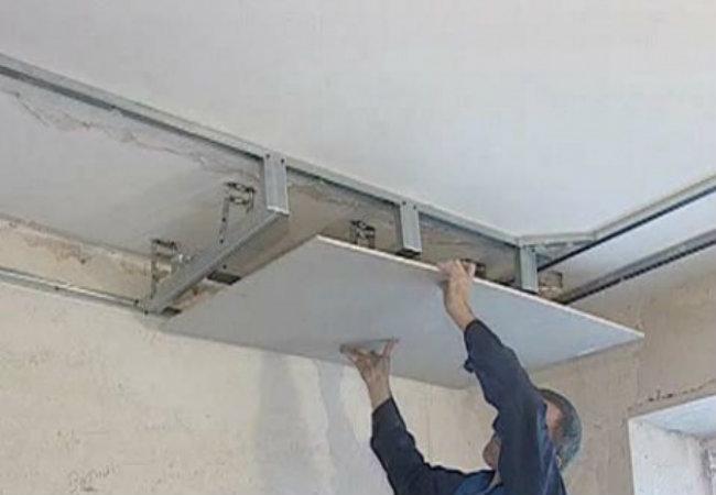 Подвесные потолки фото из гипсокартона своими руками