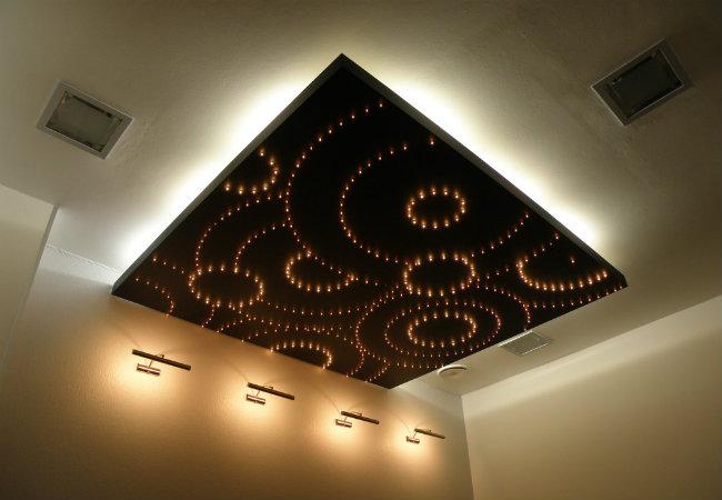 парящий потолок