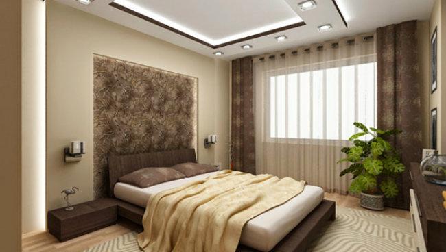 потолок из гипсокартон