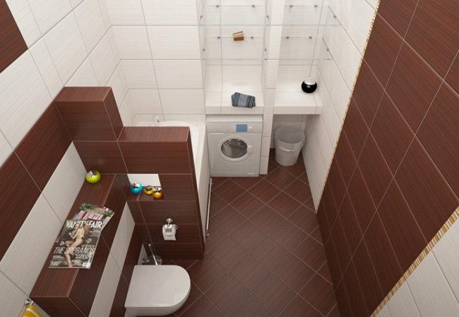 гипсокартонные перегородки в ванной