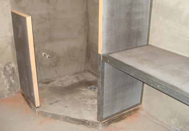 кабинка из гипсокартона