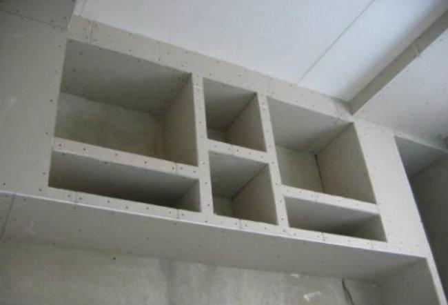 монтаж шкафа
