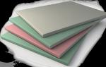 Виды и стандартные размеры гипсокартонных листов