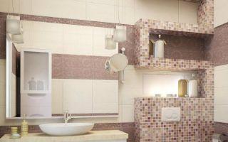 Гипсокартонные полки в ванной комнате