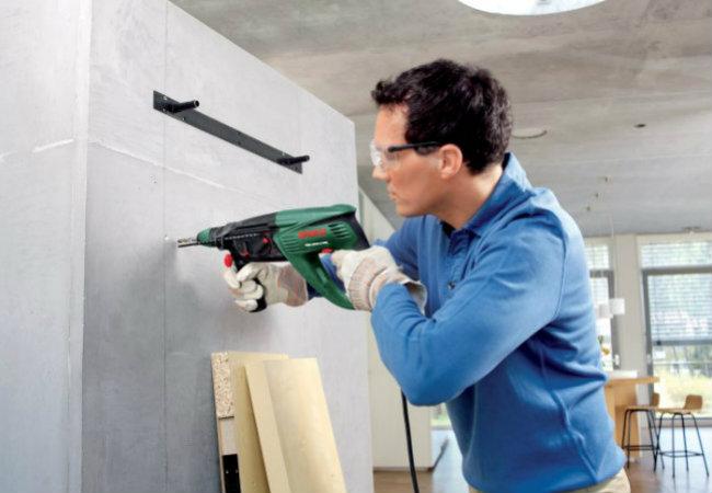 повесить шкаф на стену из гипсокартона