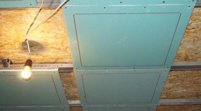 гипсокартонные панели отопления