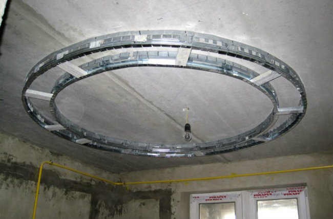 каркас для круглого потолка