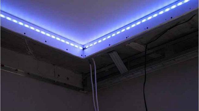 установка подсветки