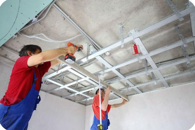 виброподвесы для потолка