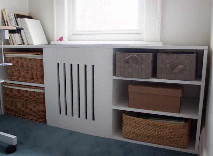 Короб для радиатора отопления