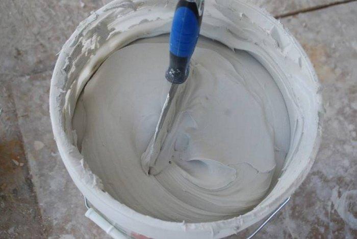 Клей для декоративного камня из гипса